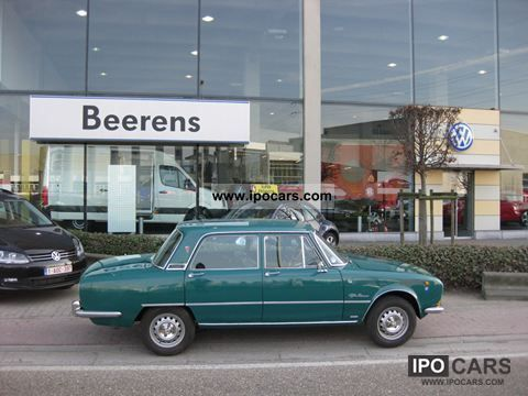 Alfa Romeo  Giulia Berlina 1750 1968 Vintage, Classic and Old Cars photo