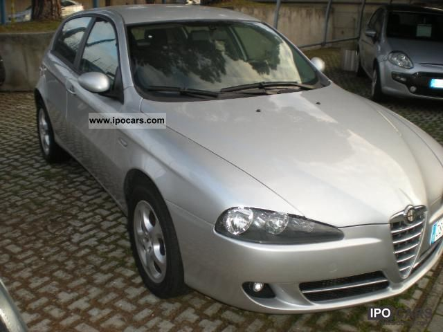 2008 alfa romeo 147 1 9 jtdm 5porte car photo and specs. Black Bedroom Furniture Sets. Home Design Ideas