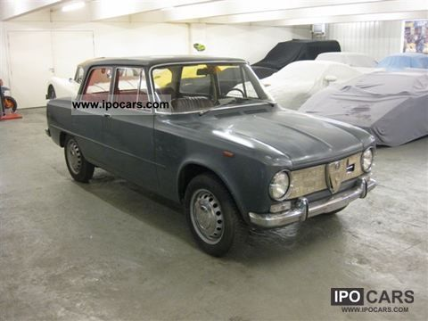 Alfa Romeo  Giulia Ti 3.1 Barnfind 1966 Vintage, Classic and Old Cars photo