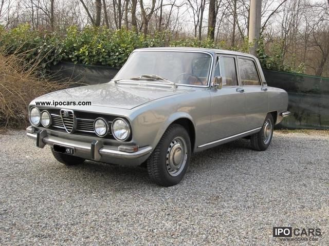 Alfa Romeo  1750 berlina prima serie 1969 Vintage, Classic and Old Cars photo