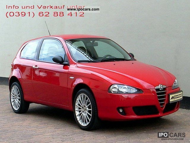2006 Alfa Romeo  147 2.0 TS 16V Dist. / Leather / LM / Winter Package Limousine Used vehicle photo