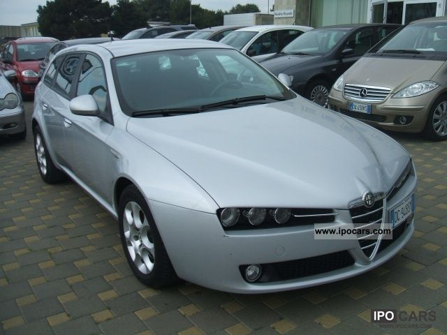 2006 alfa romeo 159 1 9 16v sport wagon jtdm progression 120 cv car photo and specs. Black Bedroom Furniture Sets. Home Design Ideas
