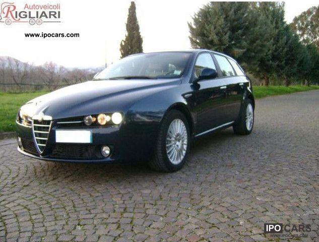 2008 Alfa Romeo  159 2.4 20v 210CV JTDm SW Distinctive Estate Car Used vehicle photo