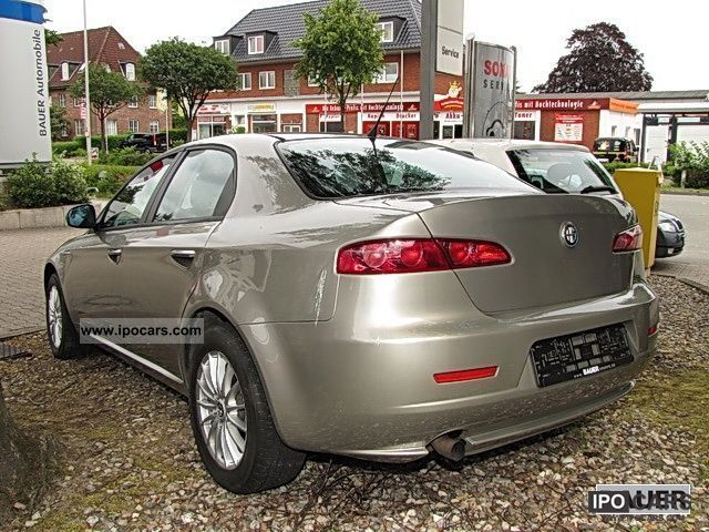 2005 Alfa Romeo 159 1.9 JTDM 16V DPF progression (air) - Car Photo and ...