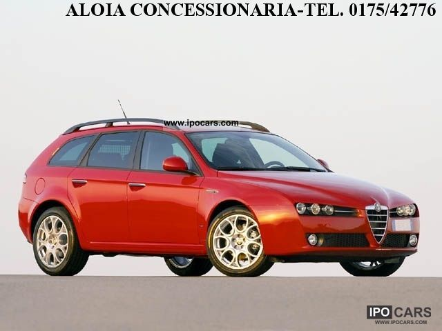 2006 alfa romeo sw 159 1 9 jtdm prog car photo and specs. Black Bedroom Furniture Sets. Home Design Ideas