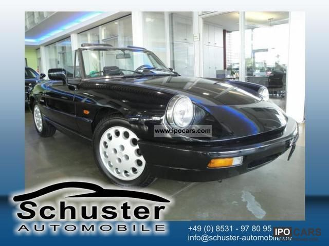 1992 Alfa Romeo  Spider Convertible 2.0 Cabrio / roadster Used vehicle photo