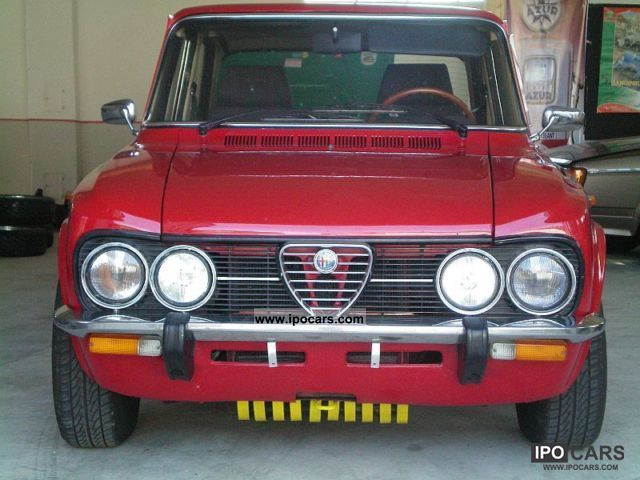 Alfa Romeo  Giulia Nuova Super 2.0L 1.6 m. Marking of H-. 1978 Vintage, Classic and Old Cars photo