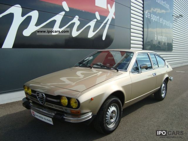 Alfa Romeo  GTV 2.0 L 1979 Vintage, Classic and Old Cars photo