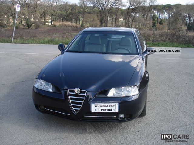 2007 Alfa Romeo  166 2.4 185cv MJet Classic PELLE Limousine Used vehicle photo