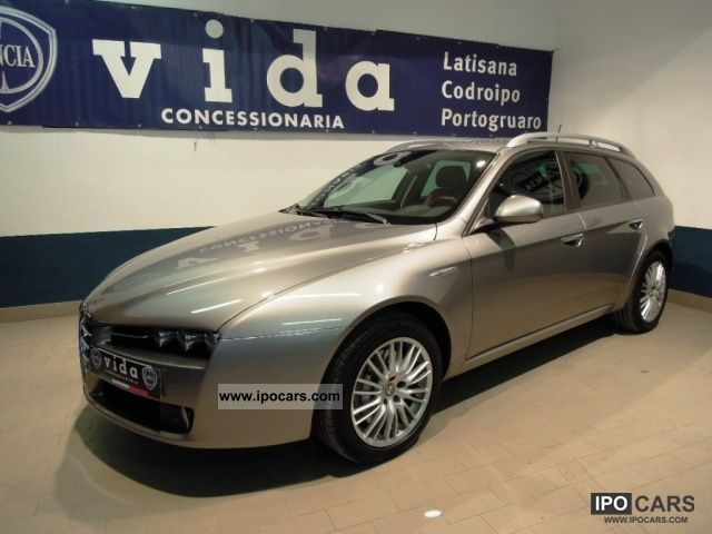 2006 alfa romeo 159 2 4 jtdm sw exclusive q tronic car photo and specs. Black Bedroom Furniture Sets. Home Design Ideas