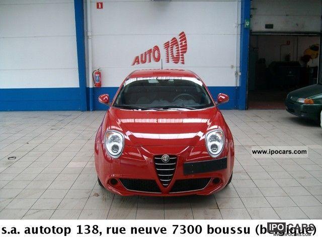 2009 Alfa Romeo  MITO 1.6 JTDM 120 Distinctiv E Limousine Used vehicle photo