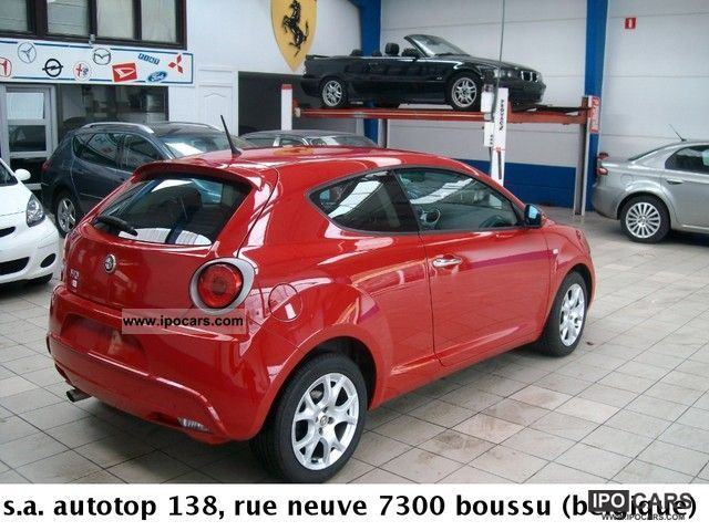 2009 alfa romeo mito 1 6 jtdm 120 distinctiv e car photo and specs. Black Bedroom Furniture Sets. Home Design Ideas
