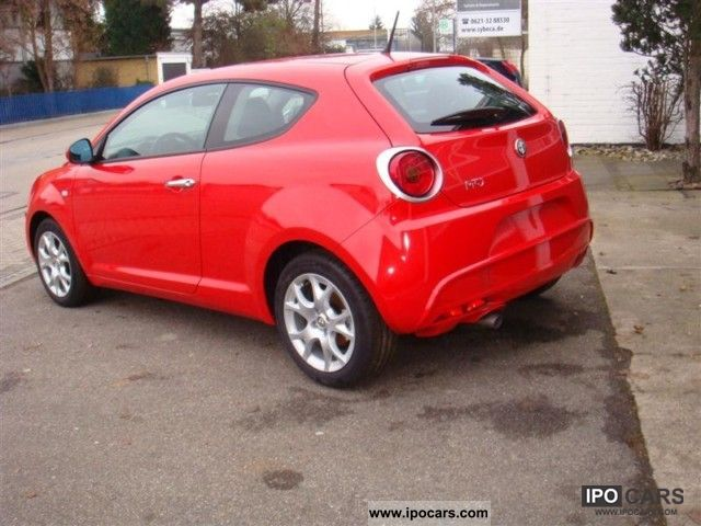 2010 Alfa Romeo  Mito 1.4 16V LPG Sports car/Coupe Used vehicle photo