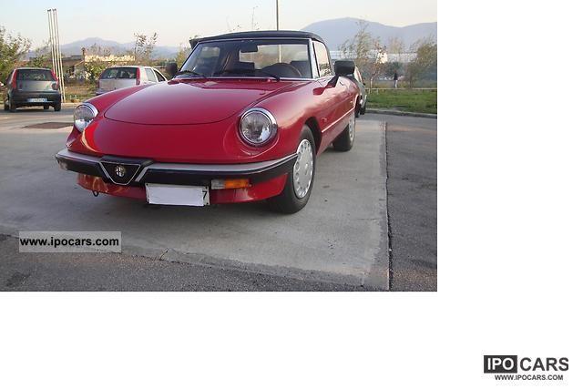 1989 Alfa Romeo  Spider 1.6 Cabrio / roadster Used vehicle photo