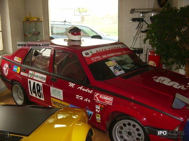 Alfa Romeo  Alfa 75 Twin Spark 2.0 RACE CAR 1990 Race Cars photo