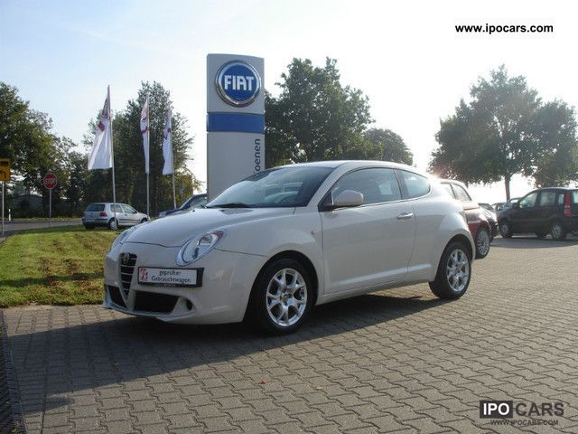 2009 Alfa Romeo  Mito 1.3 JTDM Turismo | 1.Hand | Blue & Me | Cruise Control Small Car Used vehicle photo