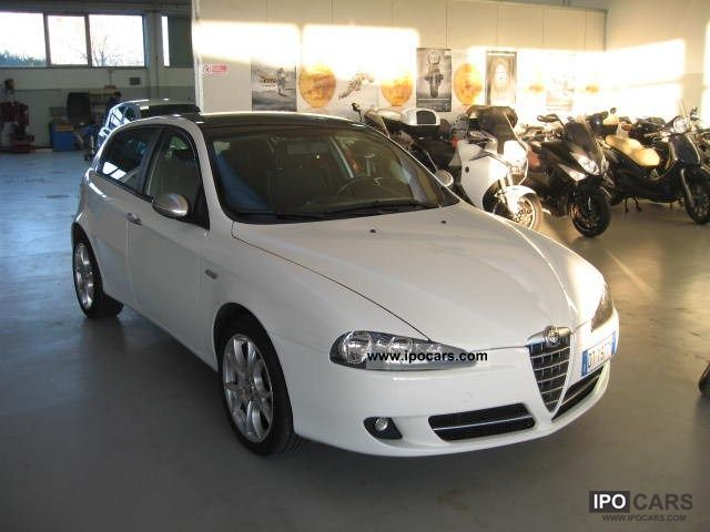 2009 alfa romeo 147 1 9 jtd 120 5 porte black line 2007 09u003e car photo and specs. Black Bedroom Furniture Sets. Home Design Ideas