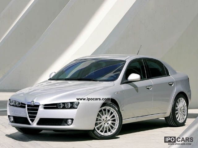 2007 Alfa Romeo  159 2.2 JTS 16V Exclusive Limousine Used vehicle photo