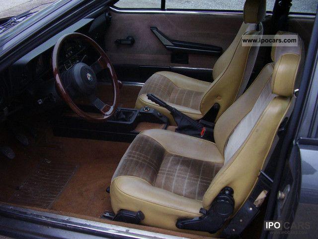 1981 Alfa Romeo  alfetta gtv 2000 Sports car/Coupe Classic Vehicle photo
