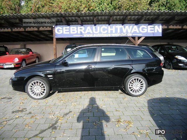 2003 alfa romeo 156 sw 2 0 jts progression car photo and specs. Black Bedroom Furniture Sets. Home Design Ideas