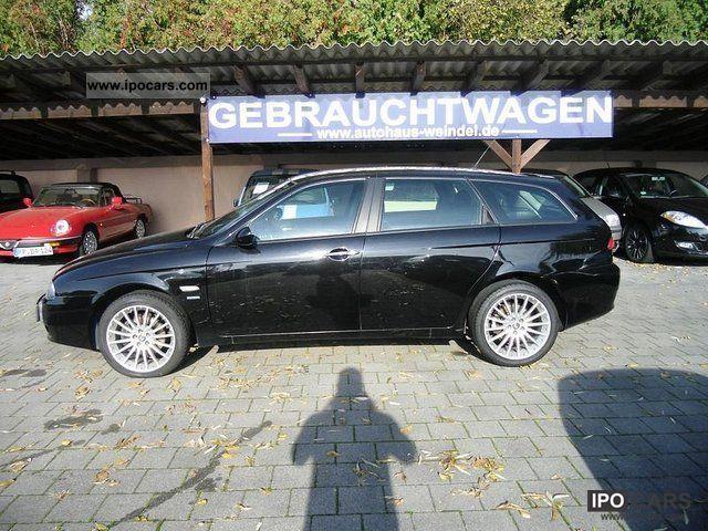2003 alfa romeo 156 sw 2 0 jts progression car photo and specs. Black Bedroom Furniture Sets. Home Design Ideas