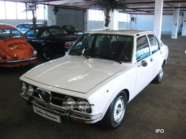 Alfa Romeo  Alfetta 6.1 1977 Vintage, Classic and Old Cars photo