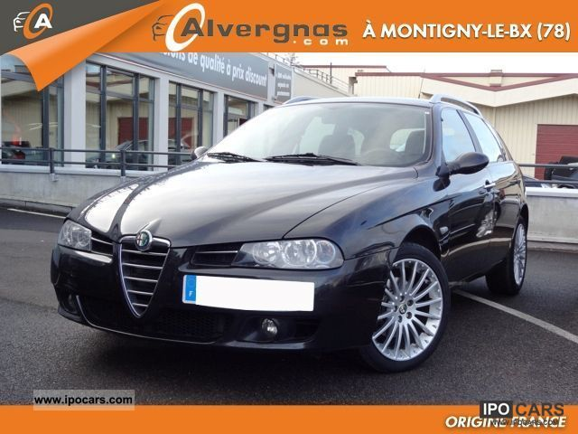 2006 Alfa Romeo  156 (2) SPORT WAGON 1.9 JTD M-JET 150 SEL Estate Car Used vehicle photo