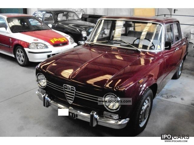 Alfa Romeo  Giulia TI 1300 1969 Vintage, Classic and Old Cars photo
