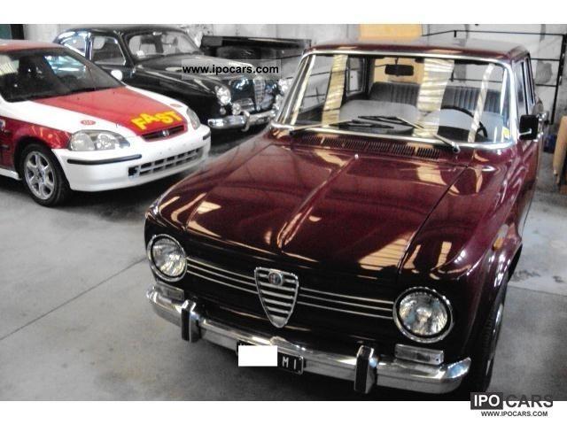 1969 alfa romeo giulia ti 1300 car photo and specs. Black Bedroom Furniture Sets. Home Design Ideas