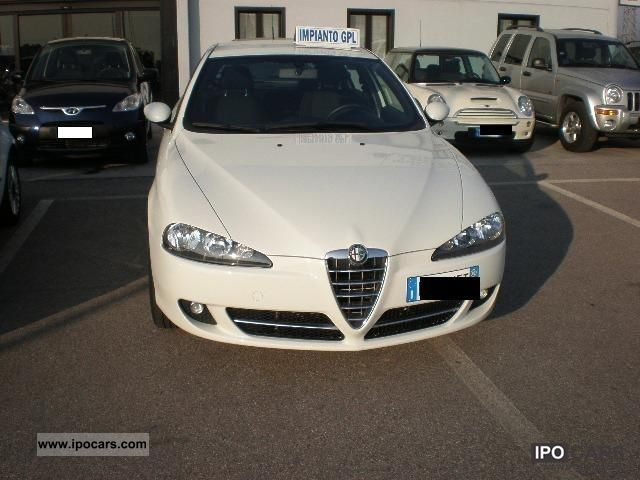 Alfa Romeo  Alfa 147 1.6 GPL 2009 Liquefied Petroleum Gas Cars (LPG, GPL, propane) photo