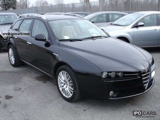 2008 alfa romeo 159 2 4 jtdm 20v 210 cv sw q4 car. Black Bedroom Furniture Sets. Home Design Ideas