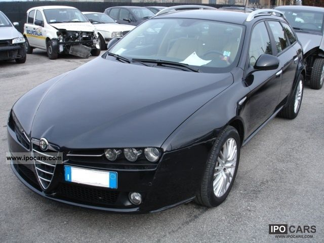 2008 alfa romeo 159 2 4 jtdm 20v 210 cv sw q4 car photo and specs. Black Bedroom Furniture Sets. Home Design Ideas