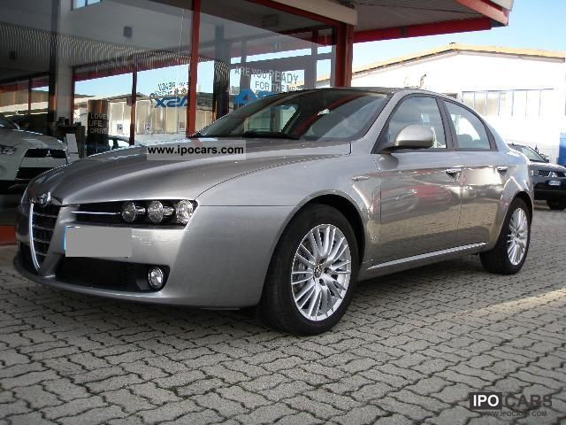 2009 alfa romeo 159 2 0 jtdm distinctive 170cv car photo and specs. Black Bedroom Furniture Sets. Home Design Ideas