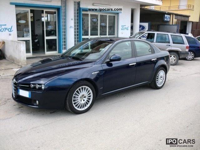 2008 Alfa Romeo  159 1.9 JTDm distint. Q-Tronic * NAVI * XENO Limousine Used vehicle photo
