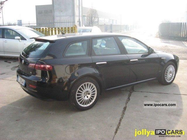 2006 alfa romeo jtdm 159 1 9 150 cv sw exclusive navi car photo and specs. Black Bedroom Furniture Sets. Home Design Ideas