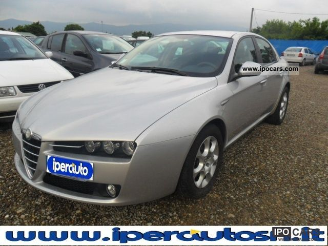2006 alfa romeo 159 1 9 jtdm car photo and specs. Black Bedroom Furniture Sets. Home Design Ideas