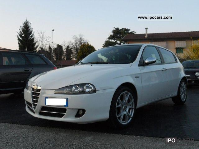 2008 Alfa Romeo  147 1,9 120 Hp Mjet Blackline Limited Edition Limousine Used vehicle photo