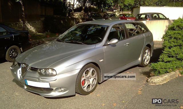 2003 alfa romeo gta 156 sw 3 2 l v6 250 cv car photo and specs. Black Bedroom Furniture Sets. Home Design Ideas