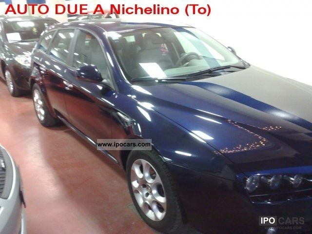 2006 alfa romeo 159 1 9 16v 150 cv jtdm sportwagon progression car photo and specs. Black Bedroom Furniture Sets. Home Design Ideas