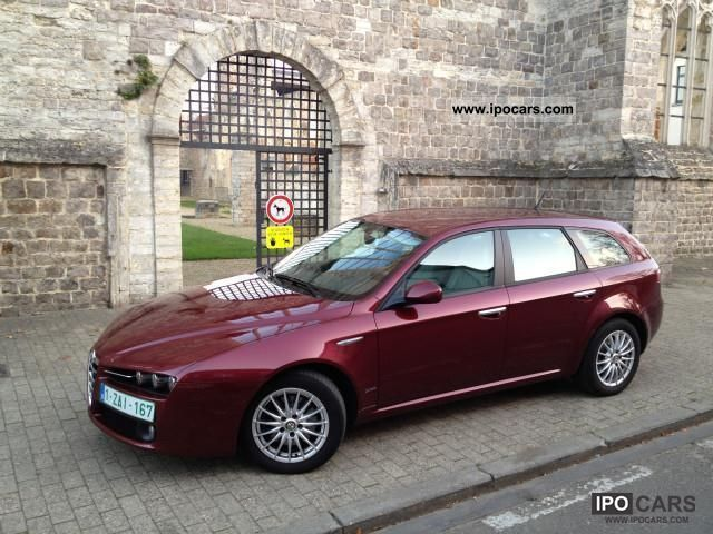 2007 alfa romeo 159 break 1 9 jtd impression corporate car photo and specs. Black Bedroom Furniture Sets. Home Design Ideas