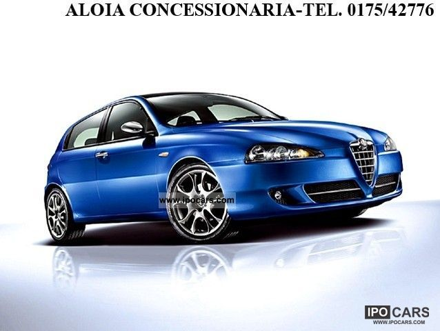 2007 alfa romeo 147 m 1 9 jtd car photo and specs. Black Bedroom Furniture Sets. Home Design Ideas