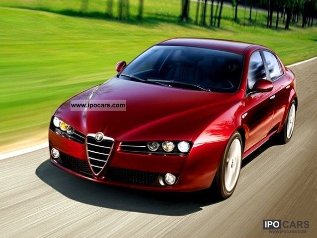 2008 Alfa Romeo  159 2.4 JTDm 20V (210 CV) Q4 Exclusive FAP Limousine Used vehicle photo