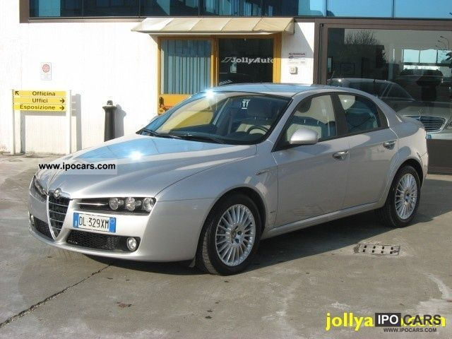 2008 alfa romeo jtdm 159 1 9 150 cv 39 000 km car photo and specs. Black Bedroom Furniture Sets. Home Design Ideas