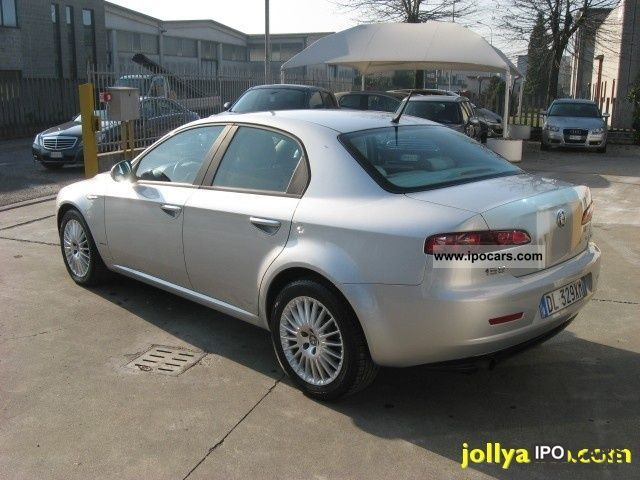 2008 alfa romeo jtdm 159 1 9 150 cv 39 000 km car photo and specs. Black Bedroom Furniture Sets. Home Design Ideas