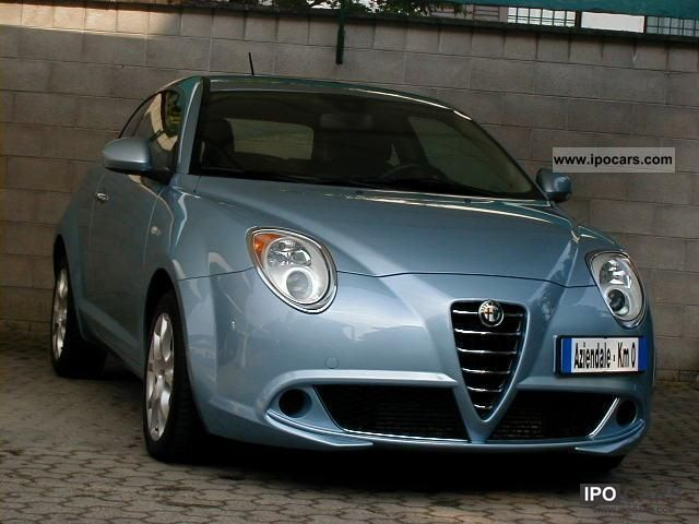 2009 alfa romeo mito 1 6 jtdm 120 cv distinctive car. Black Bedroom Furniture Sets. Home Design Ideas