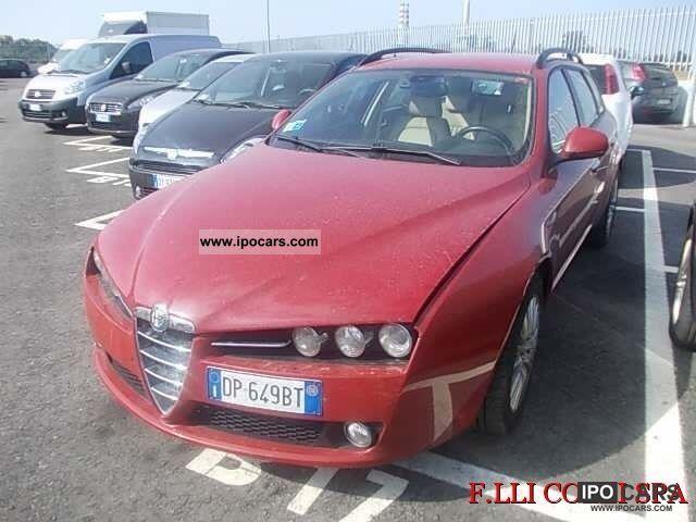 2008 Alfa Romeo  159 2.4 20v 210 CV Q4 JTDm SW Distinctive Estate Car Used vehicle photo