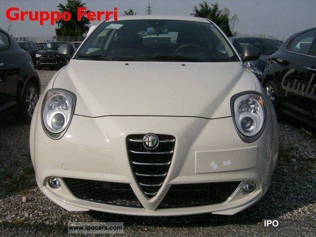2012 Alfa Romeo  MiTo 1.4 78CV S & S Super Bianco P.CONSEGNA Limousine Pre-Registration photo