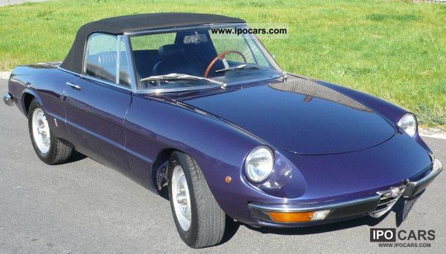 Alfa Romeo  Spider 1600 fully restored, very nice! 1972 Vintage, Classic and Old Cars photo