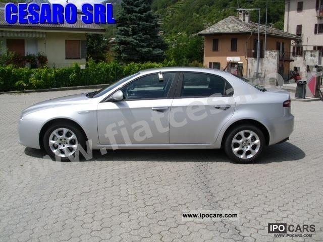2008 alfa romeo 159 1 9 16v 150 cv jtdm progression car photo and specs. Black Bedroom Furniture Sets. Home Design Ideas