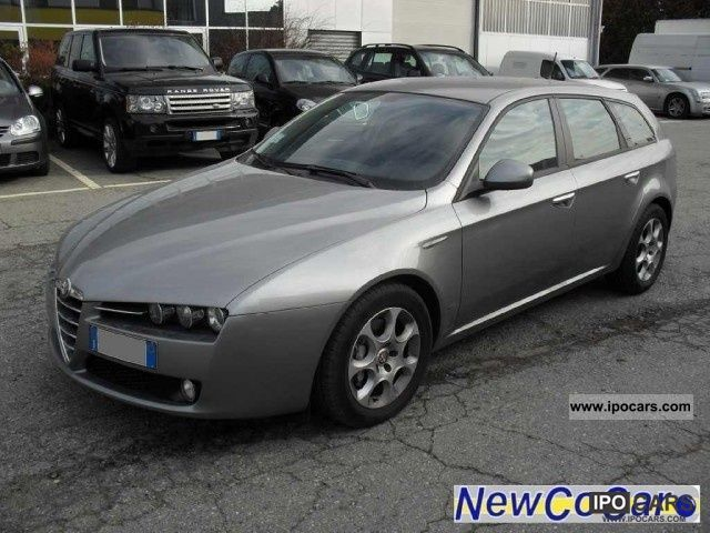 2008 alfa romeo 159 sw 1 9 jts 16v progression car photo and specs. Black Bedroom Furniture Sets. Home Design Ideas